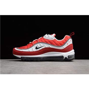 Men's Nike Air Max 98 OG Gym Red AH6799-101 For Sale