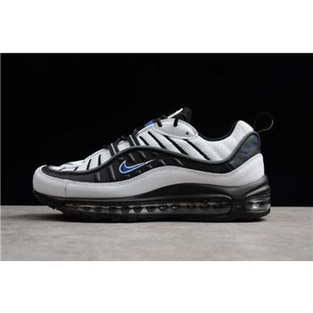 Nike Air Max 98 OG Gundam Black White Blue Men's Size 640744-108