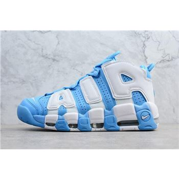Men's Nike Air More Uptempo UNC University Blue/White 921948-401