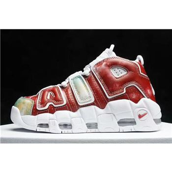 Nike Air More Uptempo United Kingdom Amarillo/Speed Red-Neptune Green-White AV3809-700
