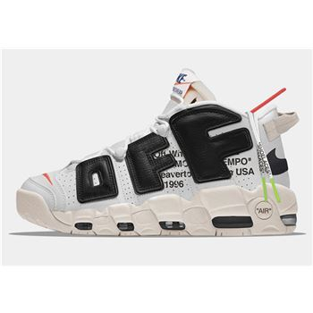 Virgil Abloh Off-White x Nike Air More Uptempo The Ten Men's Size